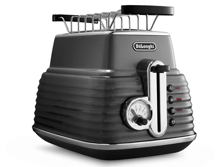 Тостер DeLonghi Brillante CTZ 2103.GY