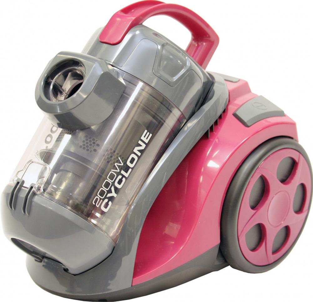 Бытовой пылесос Sinbo SVC 3498, розовый