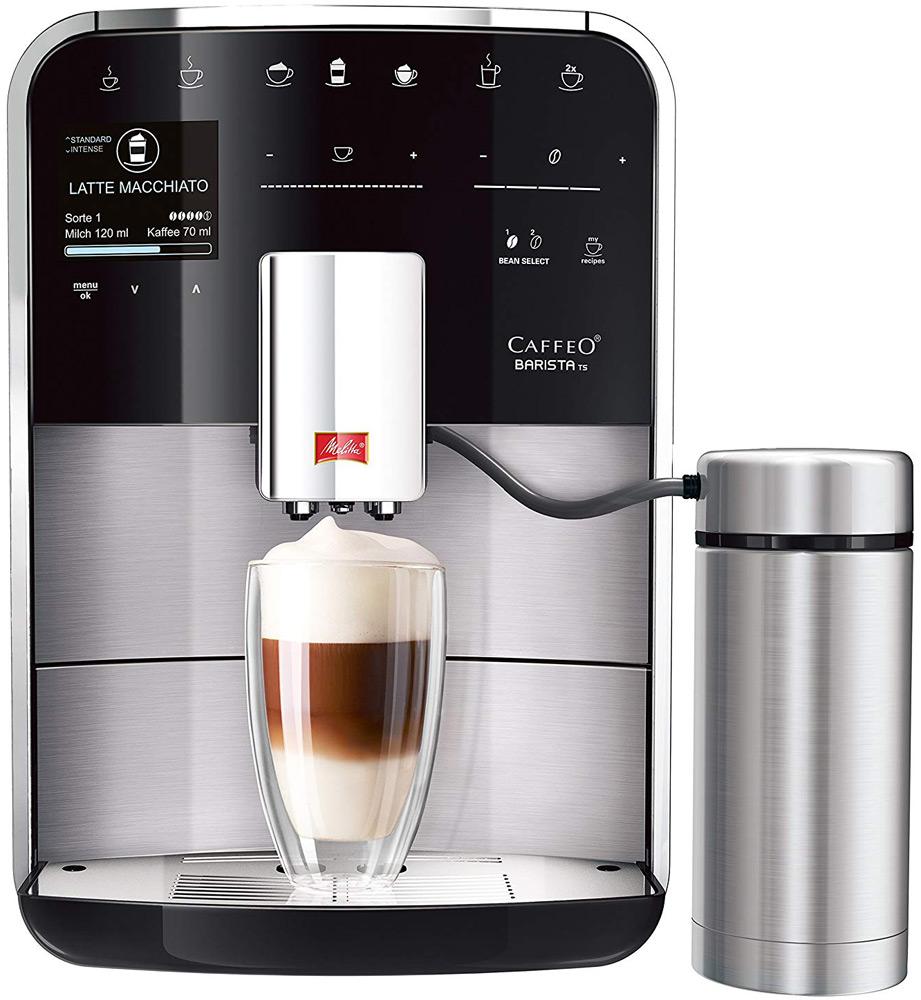 Кофеварка / кофемашина Melitta Caffeo Barista TS SST F76/0-200
