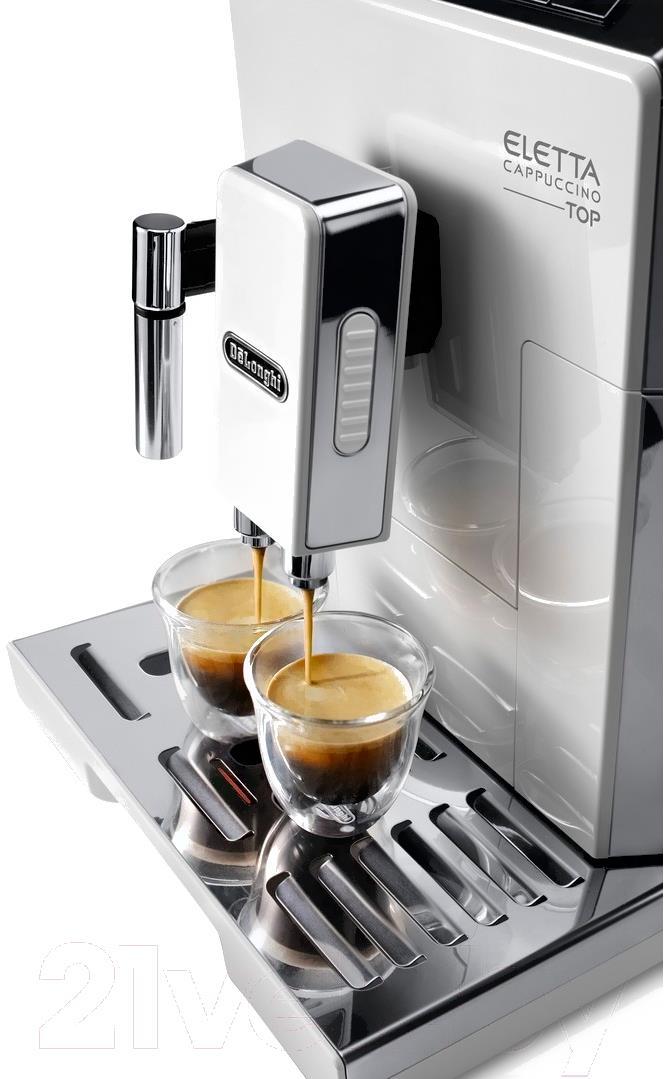 Кофеварка / кофемашина DeLonghi Eletta Cappuccino TOP ECAM 45.764.W