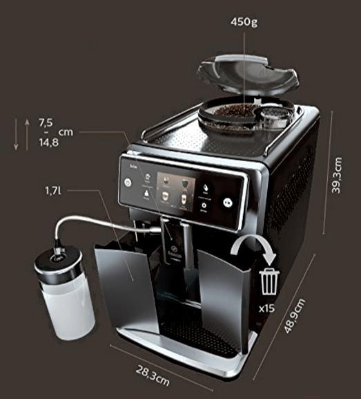 Кофеварка / кофемашина Saeco Xelsis SM7683/00