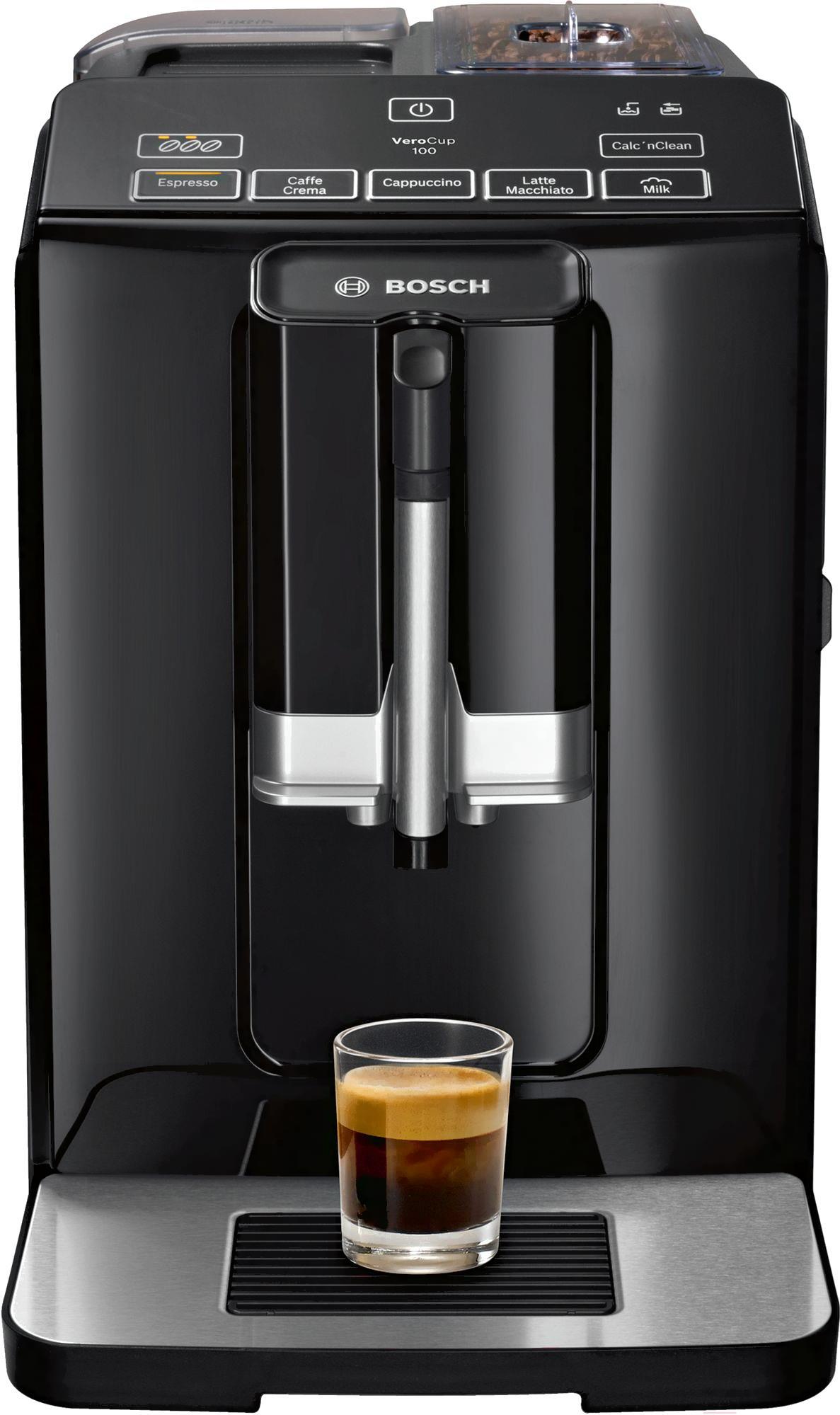 Кофеварка / кофемашина Bosch VeroCup 100 (черный)