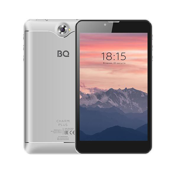 Планшет BQ-Mobile BQ-7040G Charm Plus 16GB 3G (серебристый)