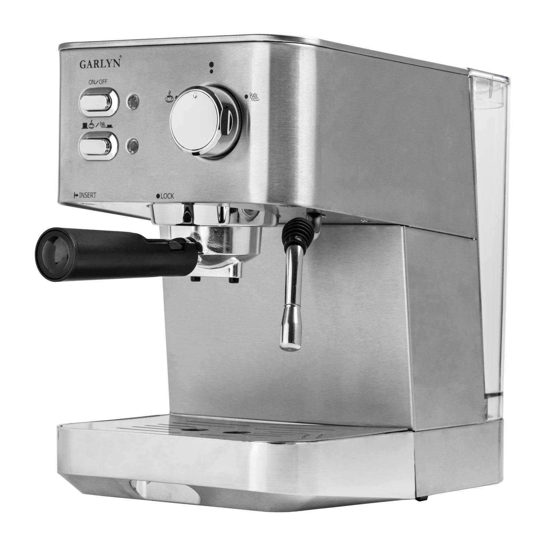Рожковая помповая кофеварка Garlyn L50 Metal
