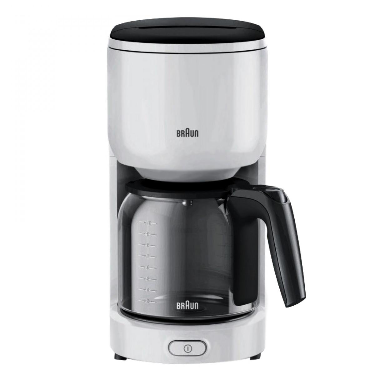 Кофеварка / кофемашина Braun KF3100 WH