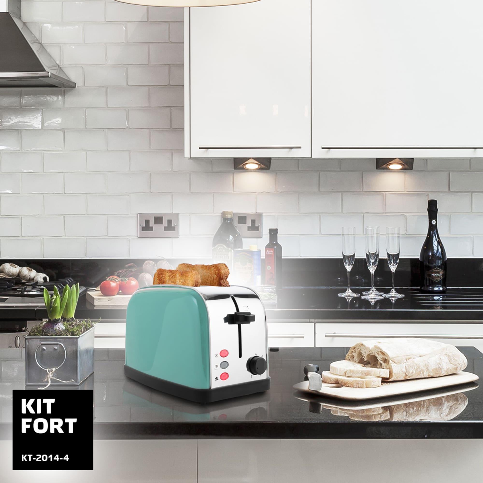Тостер Kitfort KT-2014-4 (голубой)