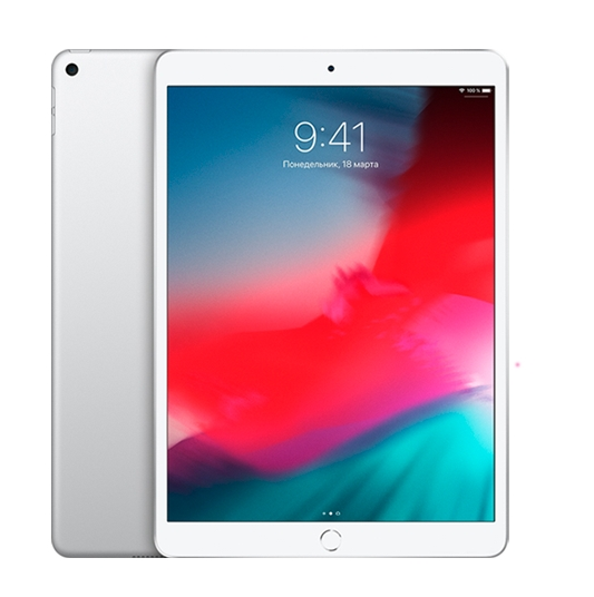 Планшет Apple iPad Air 2019 256GB MUUR2 (серебристый)