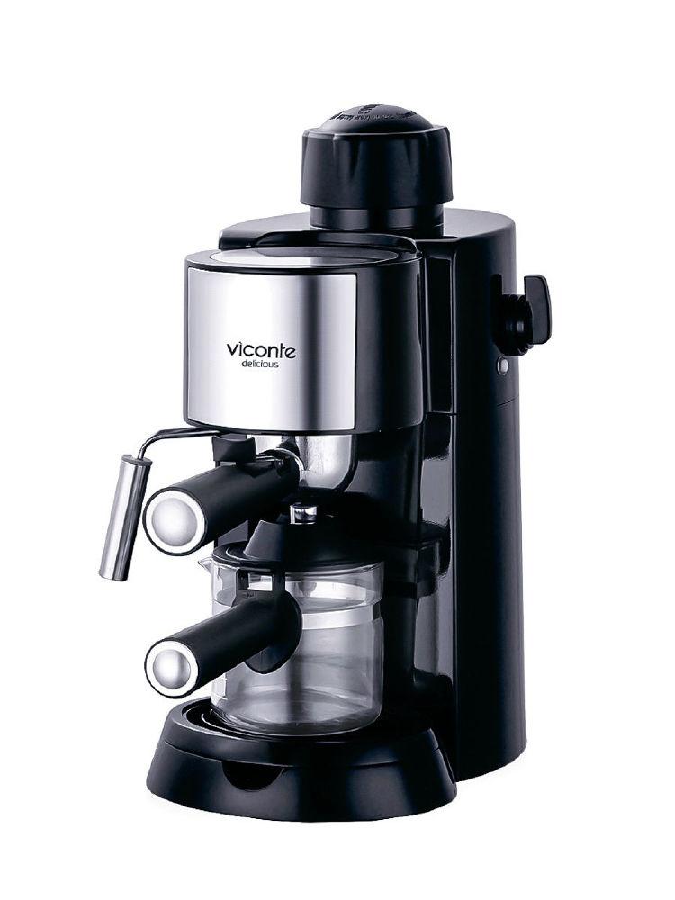 Рожковая бойлерная кофеварка Viconte VC-703
