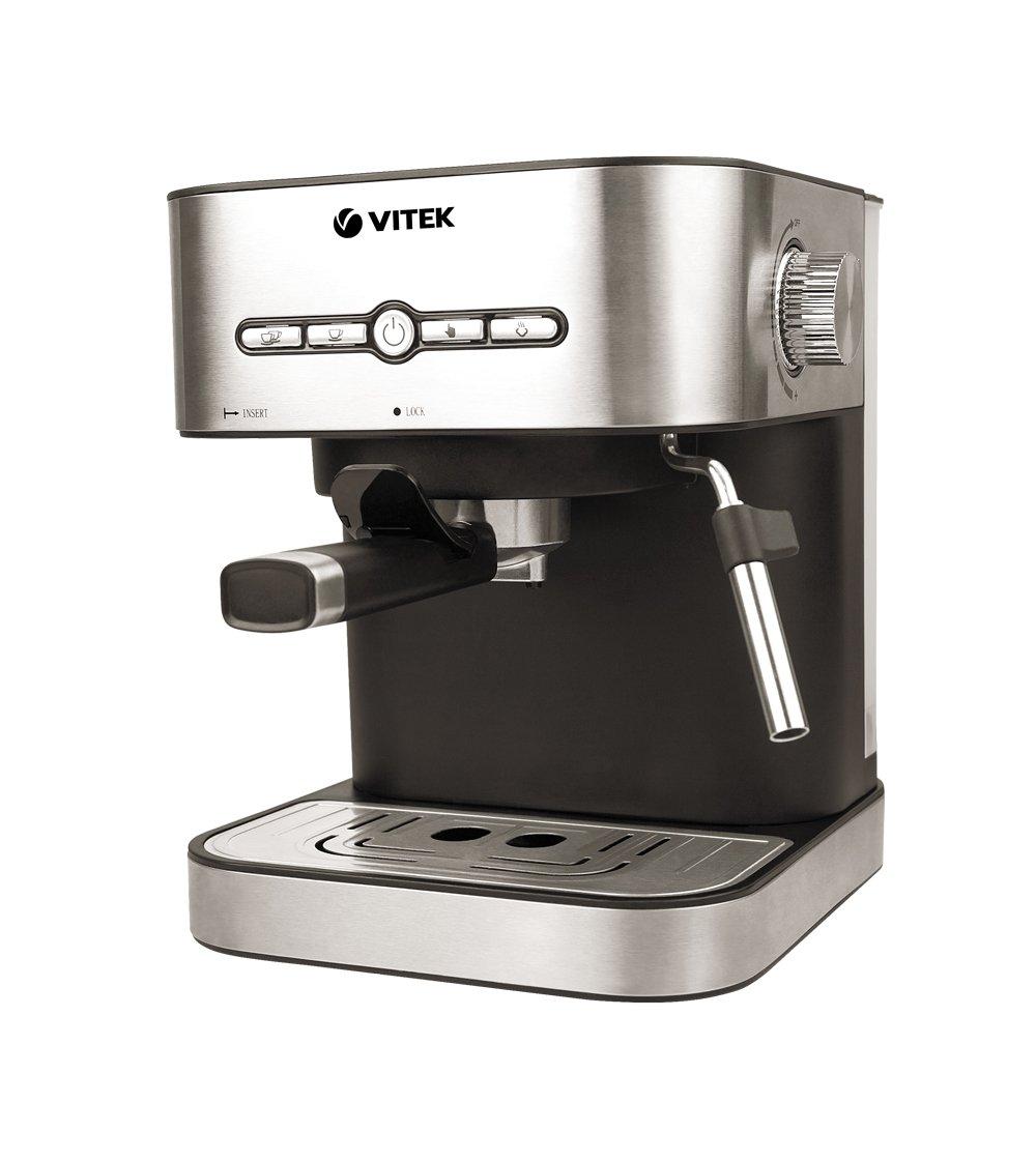 Рожковая помповая кофеварка Vitek VT-1526