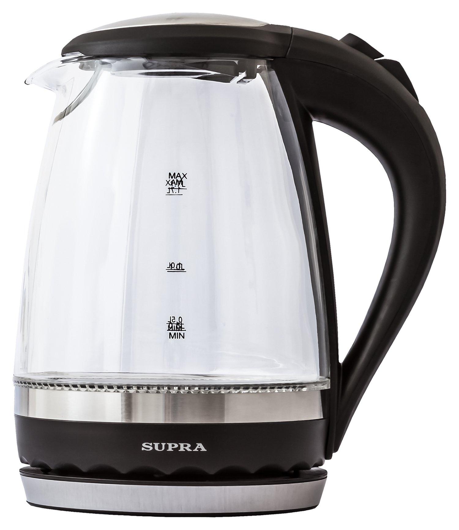 Чайник / термопот Supra KES-2003N (черный)