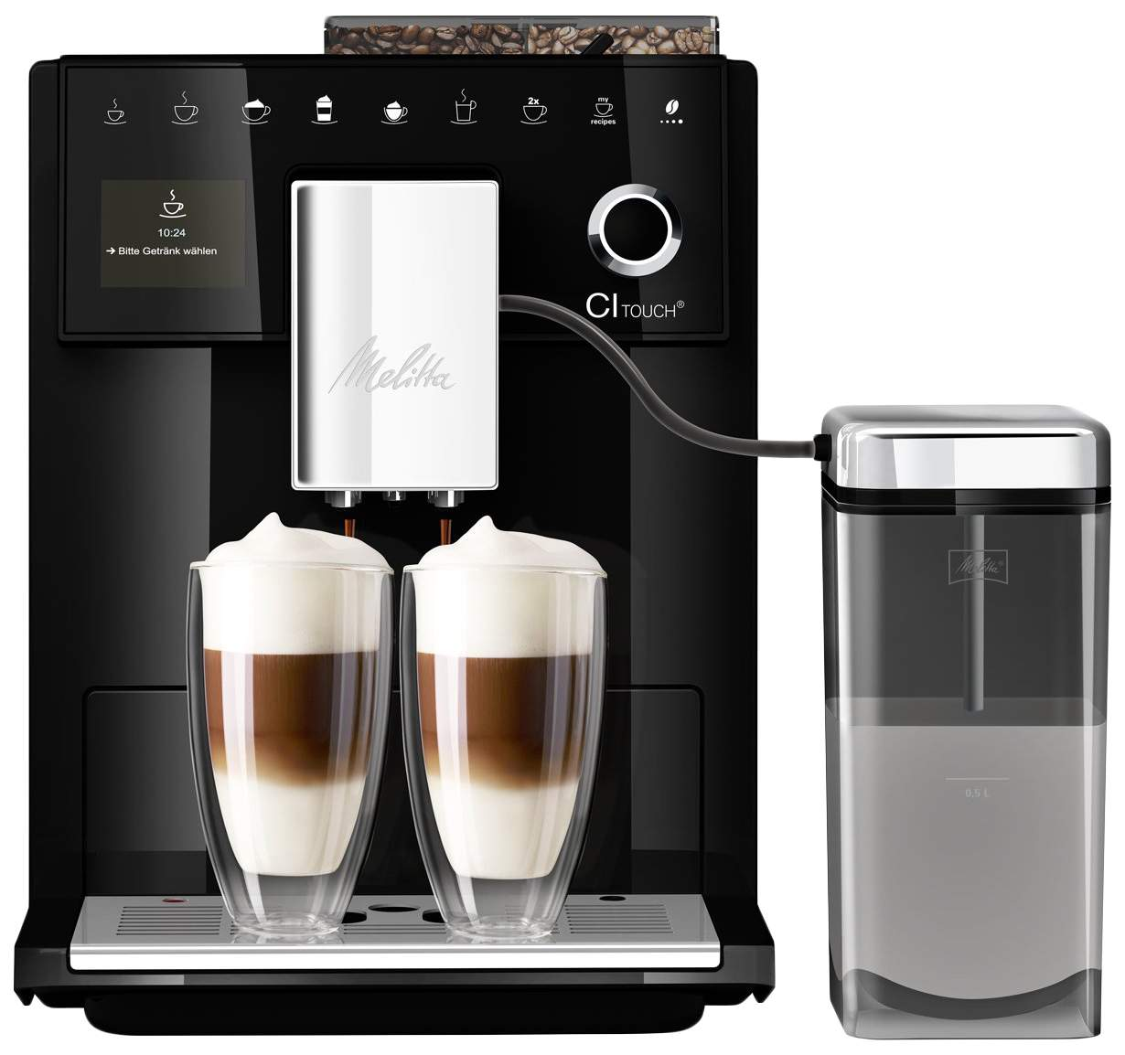 Melitta Caffeo F 630-102 CI Touch Black