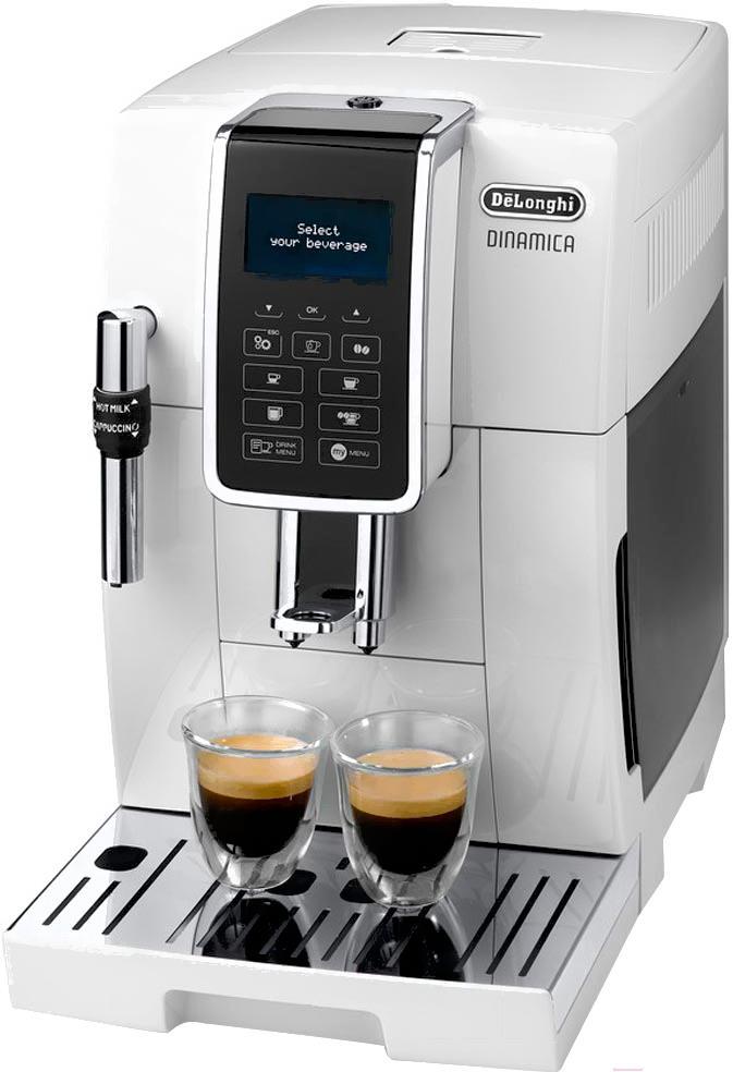 Кофеварка / кофемашина DeLonghi Dinamica ECAM 350.35.W