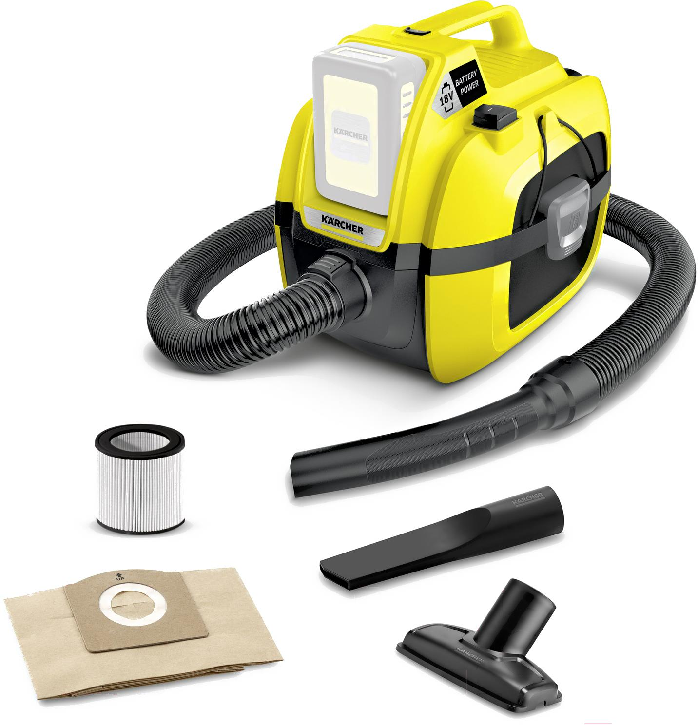 Karcher WD 1 Compact Battery 1.198-300.0