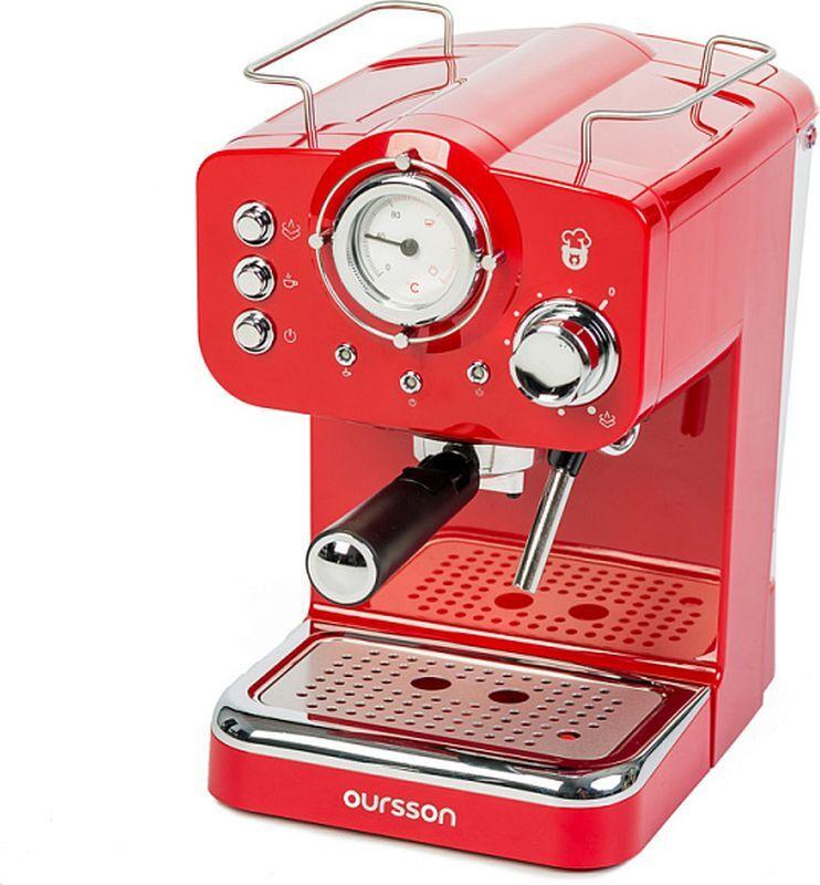 Кофеварка / кофемашина Oursson EM1500/RD