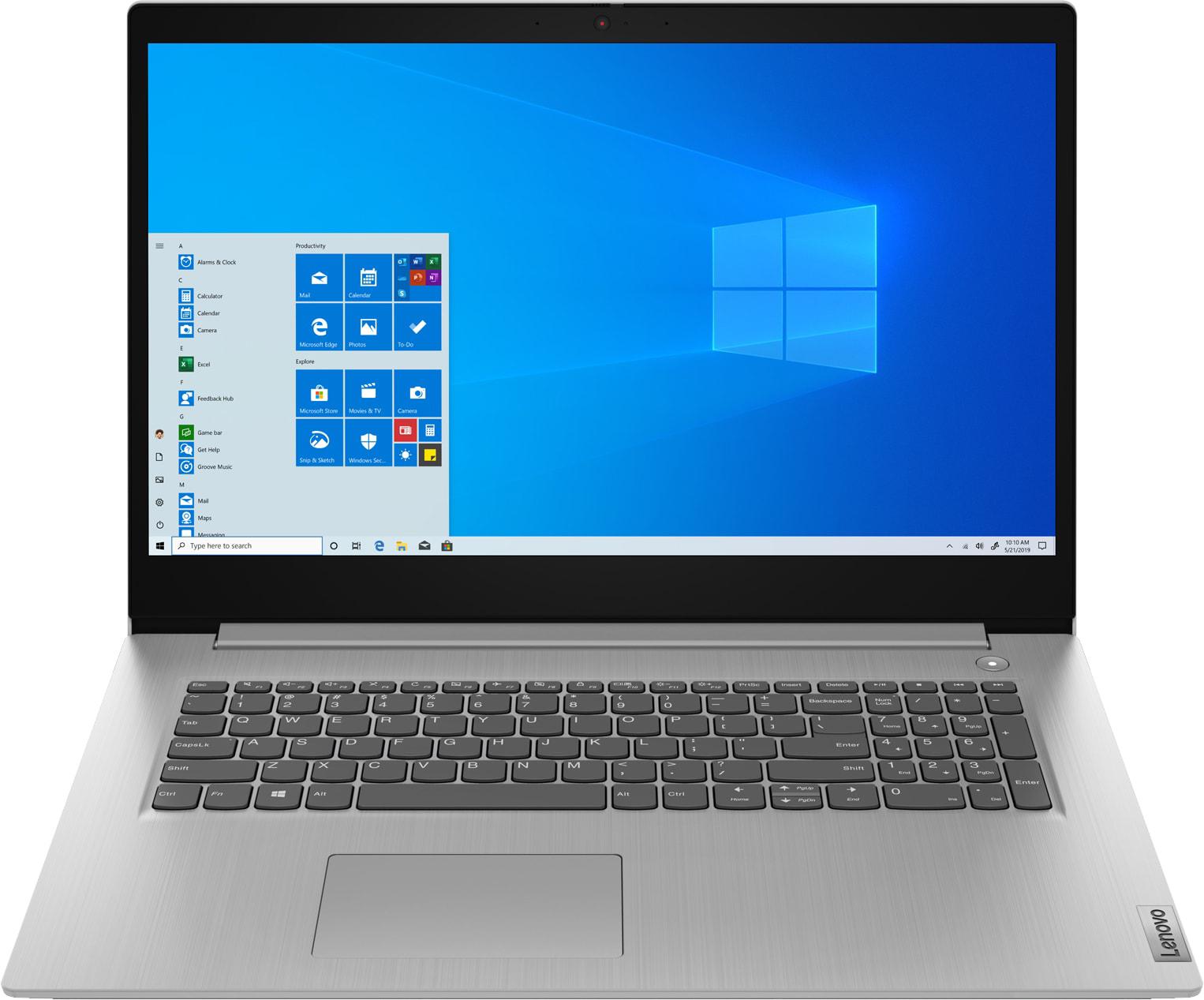 81WC009MRE Lenovo IdeaPad 3 17IML05 Pentium6405U8G256GNo ODDUMAHD+ TN 250NDosPLATINUM_GREY- 42WH