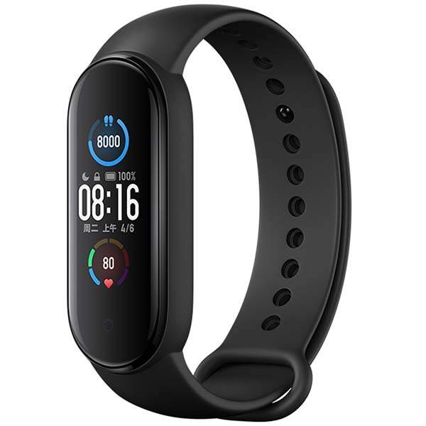 Фитнес-браслет Xiaomi Mi Band 5 BHR4215GL, Black