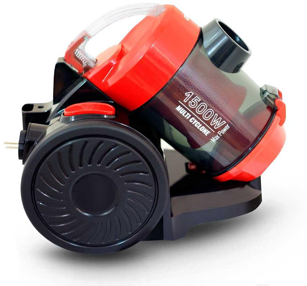Пылесос Ginzzu VS427 (черный/красный)