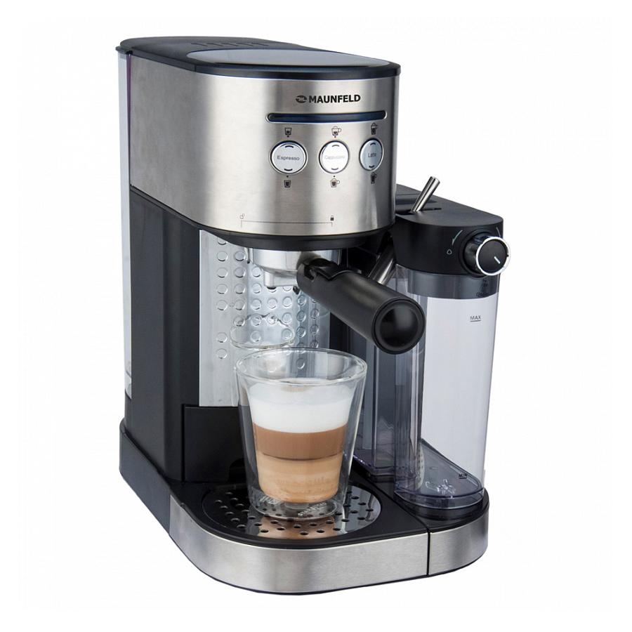 Кофеварка / кофемашина MAUNFELD MF-720S Pro