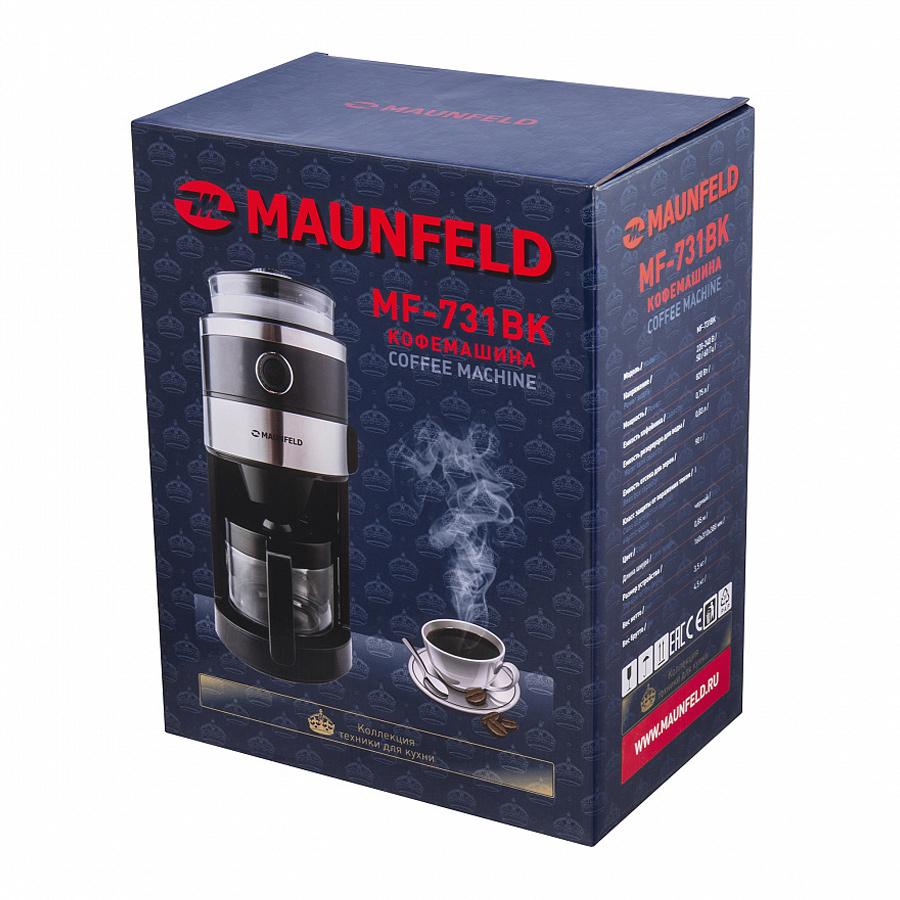 Кофеварка / кофемашина MAUNFELD MF-731BK