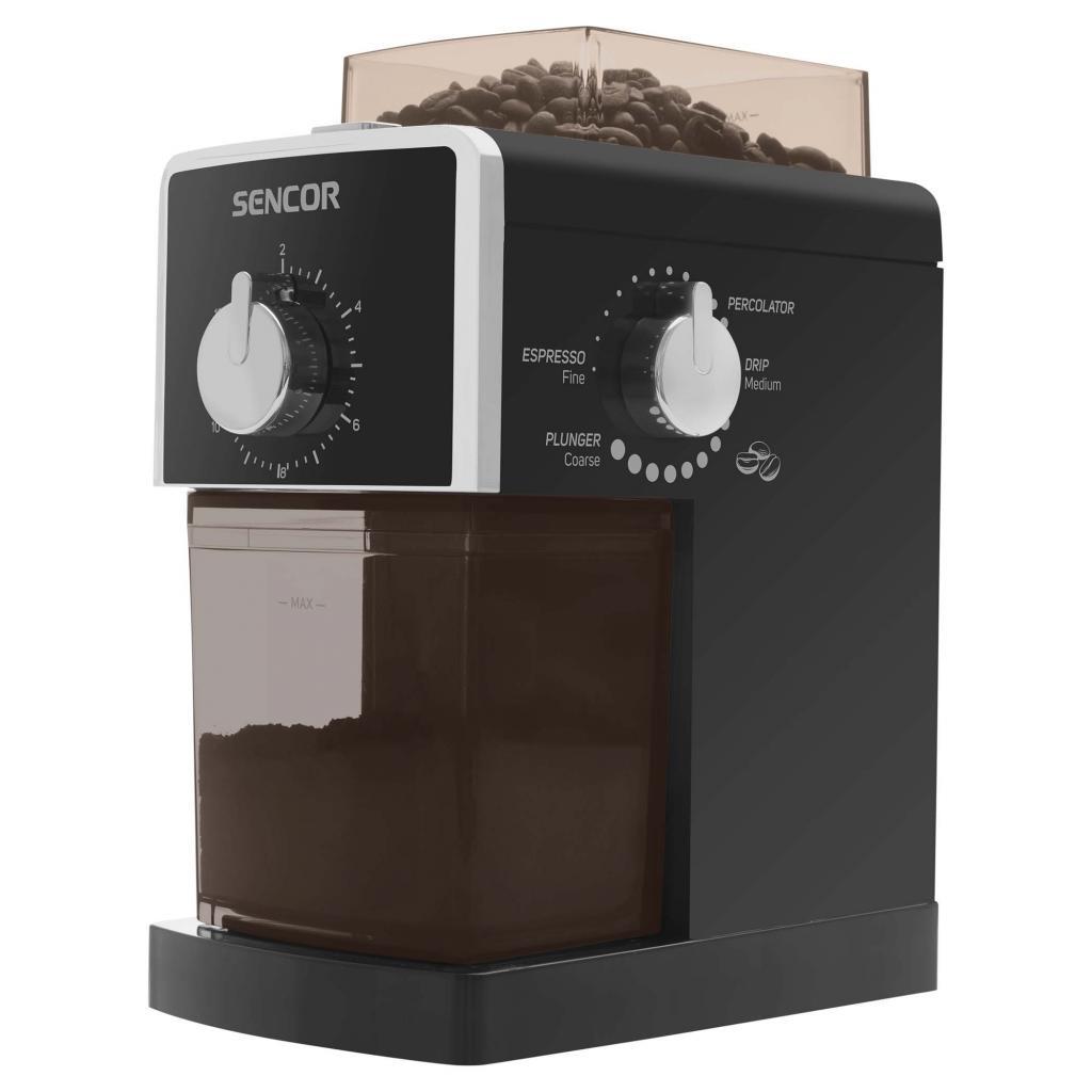Кофемолка Sencor SCG 5050BK